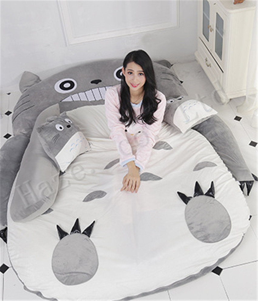 Tonari pas de Totoro doux en peluche perle coton rembourré canapé-lit