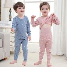 cdc908d746d0 Susi Rita Baby Kids Pajamas Cartoon Animal Girls Long Sleeve Pajamas Set Autumn  Boys Sleepwear Winter Cotton Christmas Pajamas