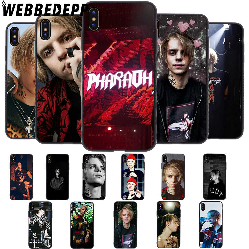 WEBBEDEPP Russia rapper Pharaoh Soft Case for iPhone 5 5S 6 6S 7 8 Plus X XS 11 Pro MAX XR Cover