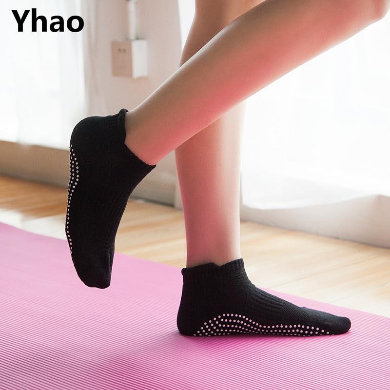 High Quality Yoga Non-slip socks Antiskid Breathable Terry Fitness Sox Compression Pilates Yoga Socks