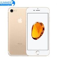 Оригинальный Apple iPhone 7 четырехъядерный мобильный телефон 12.0MP камера IOS LTE 4G отпечаток пальца используемый смартфон