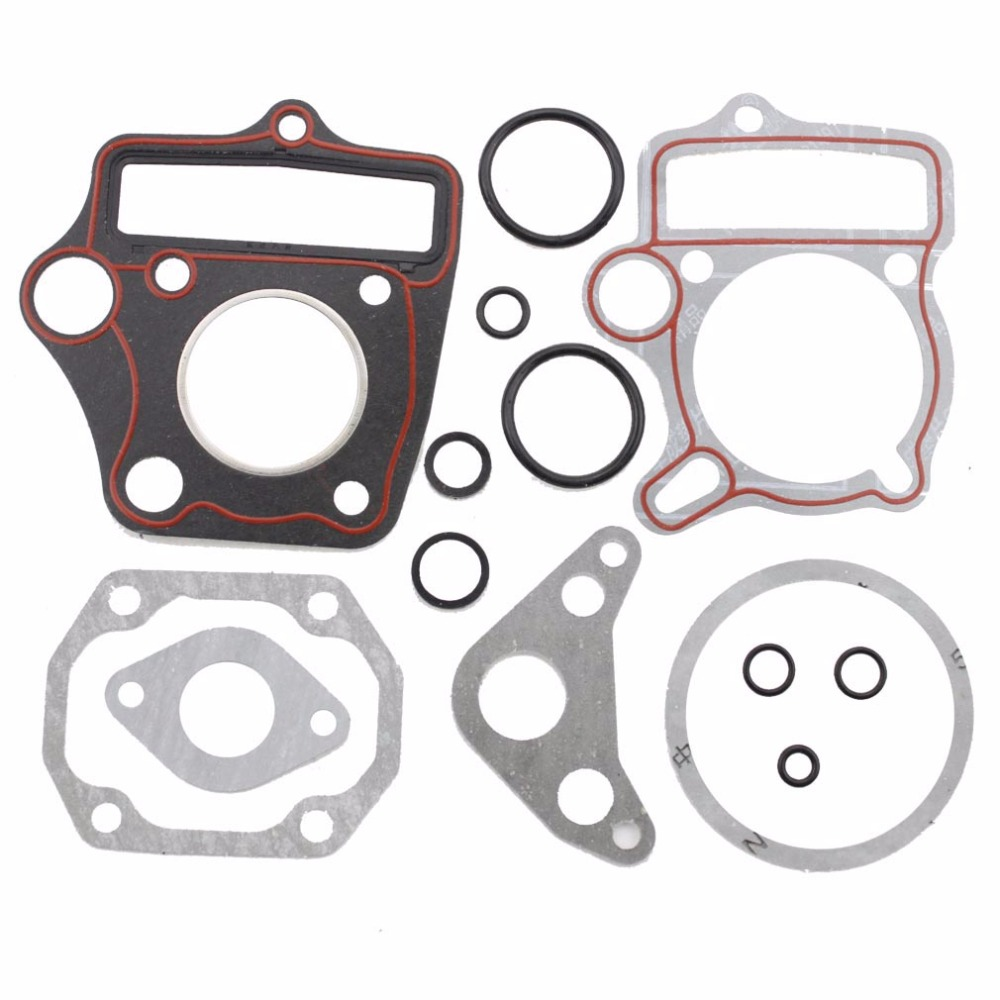 GOOFIT 40mm Cylinder diameter Complete Gasket Set for 50cc Horizontal Engine ATV Dirt Bike Go Kart Scooter Moped K078 027 in Kickstarters Parts from Automobiles Motorcycles