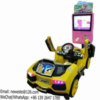Kids Game Machine Electric Swing Car Kiddie Rides