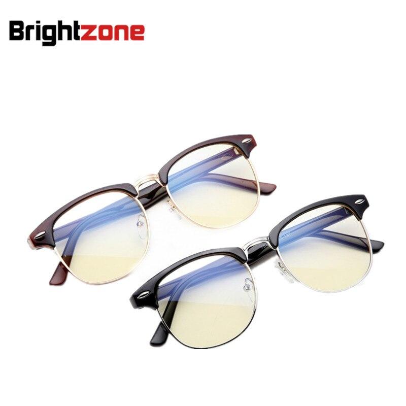Brightzone anti-azul rayos reduce digital tensión del ojo amarillo claro ordenador gafas Gaming dormir mejor ocluos Gafas