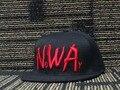 2016 novo Snapback Compton Eazy E Dre Gangsta Chapéu Boné de Beisebol Do Vintage Preto Cubo de Gelo NWA carta esporte caps