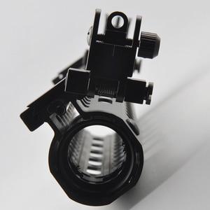 Image 5 - US 45 Degree Off Front Rear Set Flip Up Back Up Side Iron Sight Fit 20mm Rail