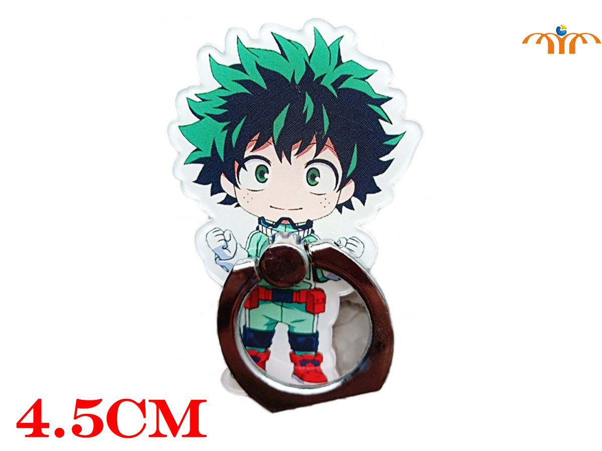 OHCOMICS My Hero Academia All Might Bakugou Midoriya Todoroki Ring Stand Mount Holder Stent Mobile Phone Paste Stents