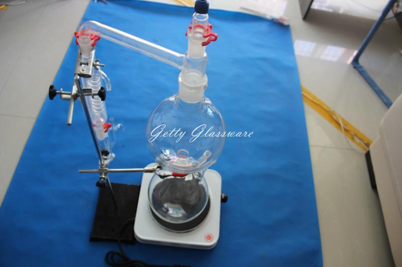 Huile essentielle distillateur à vapeur appareils de distillation, huile Essentielle distillation à la vapeur kit
