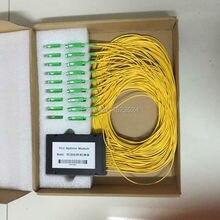 2.0 mm 1.5 M caja ABS 2 x 32 SC / APC conector 2:32 SC APC fibra óptica caja ABS PLC módulo divisor