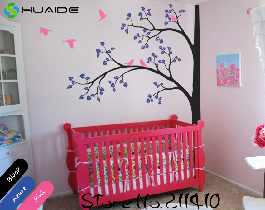 bec8113202 You're viewing: Baby Nursery Wall Stickers Tree White Tree Wall Decals  Flying Birds Tree Branches Wall Art Home Decor Living Room Mural JW193A  $70.00 $60.00