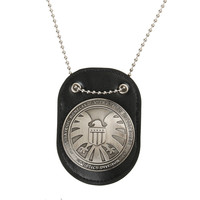 NEW Arrival Official Agents of shield S.H.I.E.L.D. Metal SHIELD Badge Pin & Badge Holder On Sale