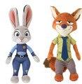 2016 Новое Прибытие Zootopia Плюшевые Игрушки Кролик Джуди Хопс Ник Уайлд Полиция Женщины Мягкие Игрушки Игрушки Для Детей Подарок