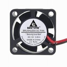 5PCS 2Pin 25x25x10mm 2.5cm 2510 25mm Ball Bearing Brushless 12V Cooling Fan Cooler