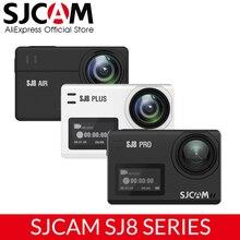 SJCAM SJ8 سلسلة SJ8 برو SJ8 زائد SJ8 الهواء 1290P 4K 60fps عمل كاميرا واي فاي التحكم عن بعد مقاوم للماء الرياضة DV FPV كاميرا