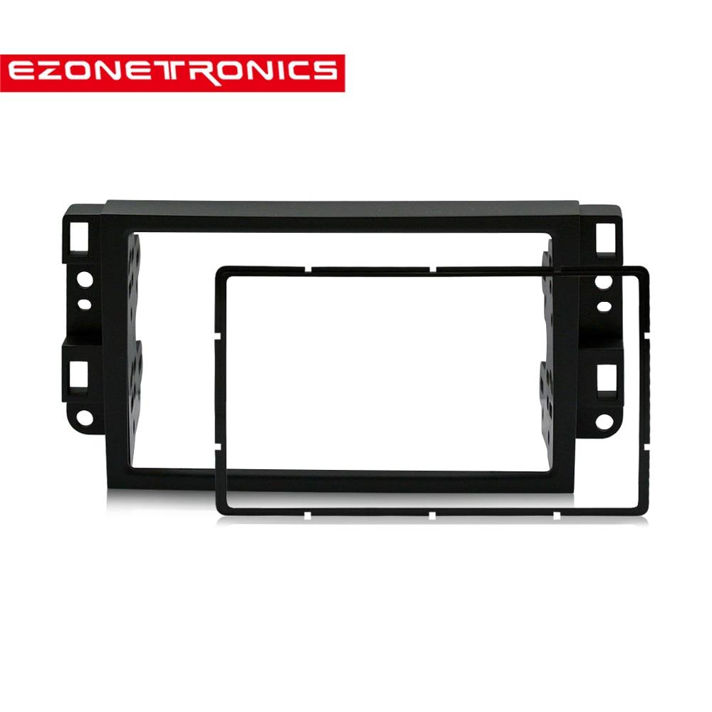 2Din Car DVD Frame, Audio Fitting Adaptor, Dash Trim Kits,Facia Panel for Chevrolet Captiva/Lova/Gentra Double Din radio player