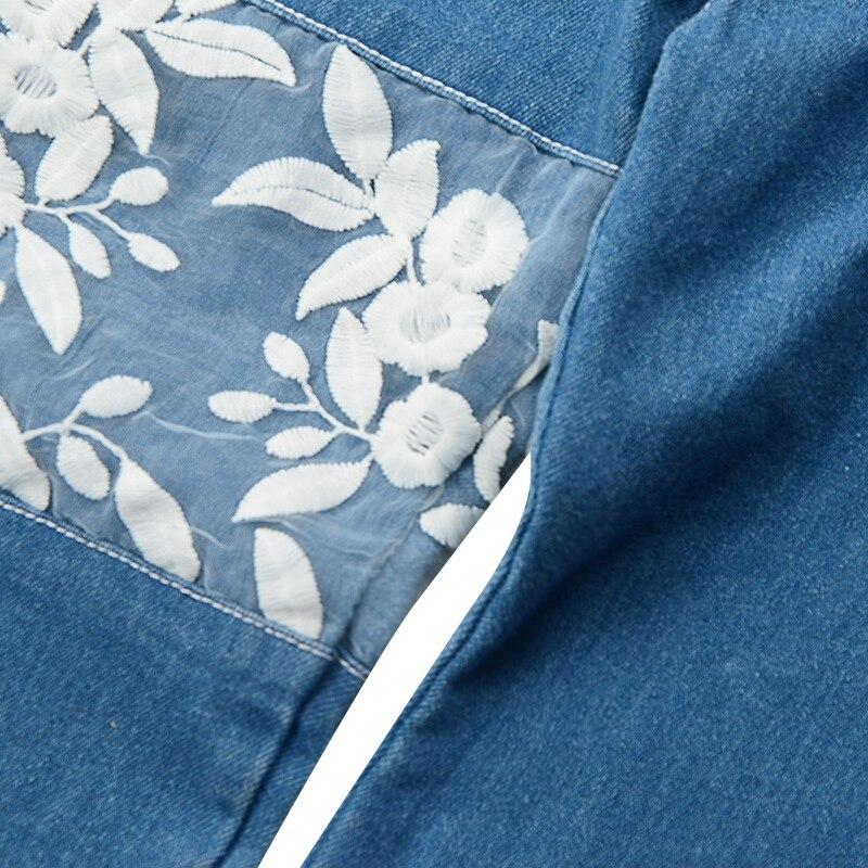1-6T 2018 Summer New Fashion 2PCS Girls Short Top+Denim Lace Trousers Suit Girls Word Shoulder Tee+Jeans Suit Baby Girls Set