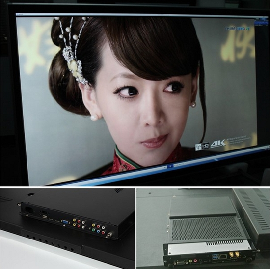 32/42/55/65/70 pouces support mural portable écran tactile smart tv largement utilisé écran tactile capacitif tout-en-un PC/Tv