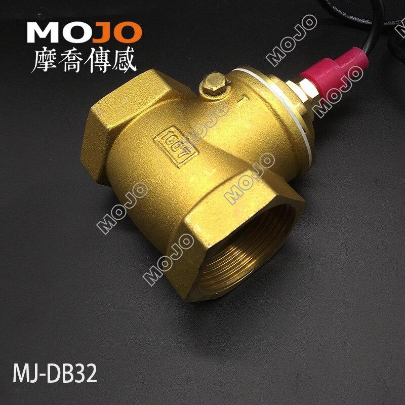2019 type de palette MJ-DB32 commutateur de débit 1.25 pouces 10-100L/min interrupteur marche/arrêt de l'eau