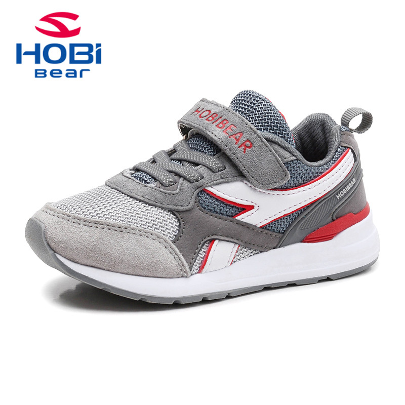Kids Shoes for Girls Sneaker Boys Footwear Spring Running Sports Basketball Tennis Trainers for Children Brand Hobibear H7516