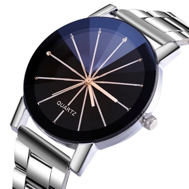 Splendid Luxury Watch Men Watch Women Fashion Diamond Refraction Men's Watch Wom