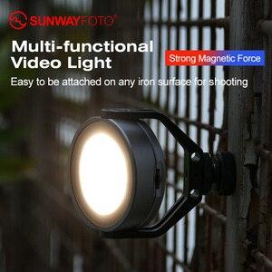 Image 2 - Кольцевой светильник для фотосъемки SUNWAYFOTO, светодиодный светсветильник льник для фото, видео, селфи, свет для youtube, студийное фото