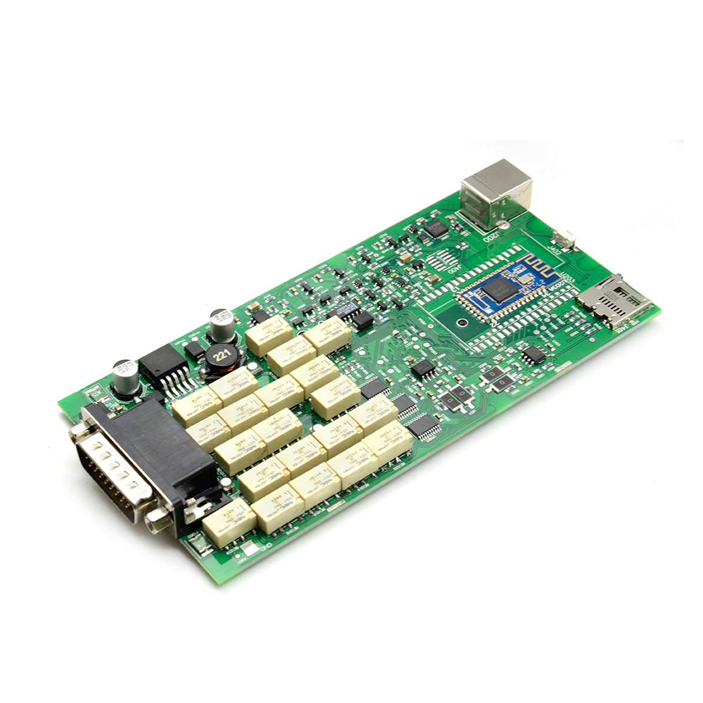 100 newest green Single Board PCB With bluetooth