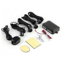 10 pz un sacco 4 Sensori di Parcheggio Auto Reverse Assistenza Backup Posteriore Parco Radar Buzzer Alarm Kit Monitor di Sistema