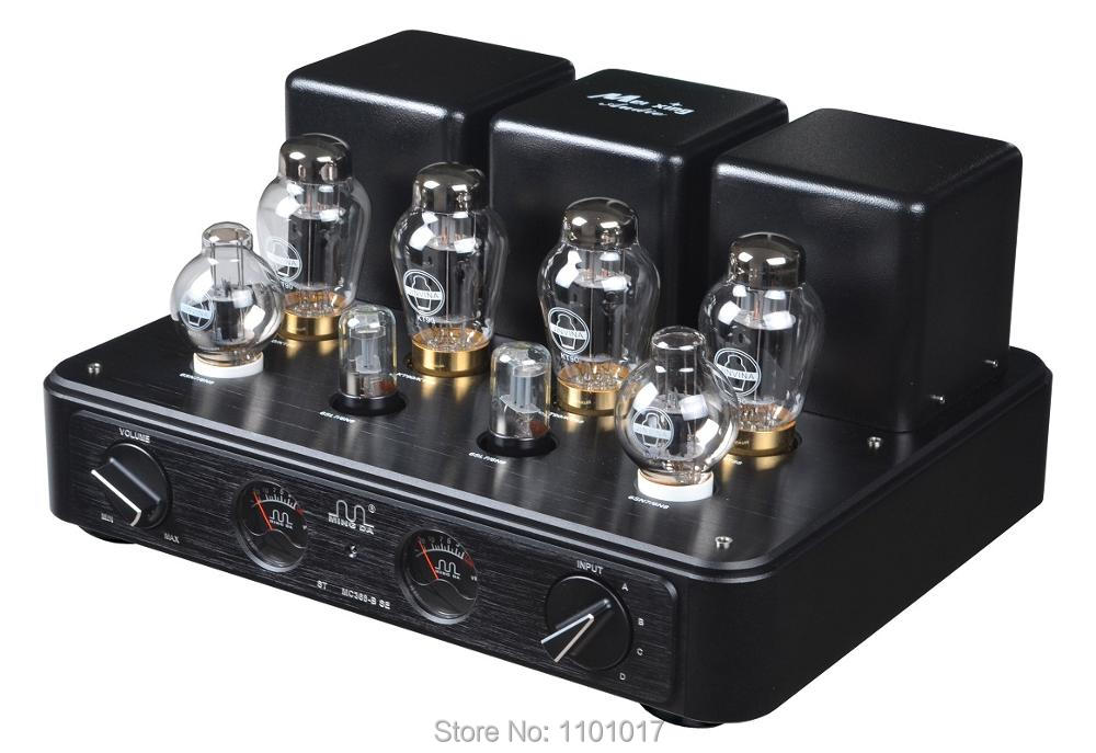 Meixing Mingda MC368-BSE KT90 Push Pull Tube Amp HIFI EXQUIS Integrated Lamp Amplifier Special Edition meixing mingda mc845 c st monoblock pure power tube amplifier hifi exquis 300b push 845 class a lamp amp standard version