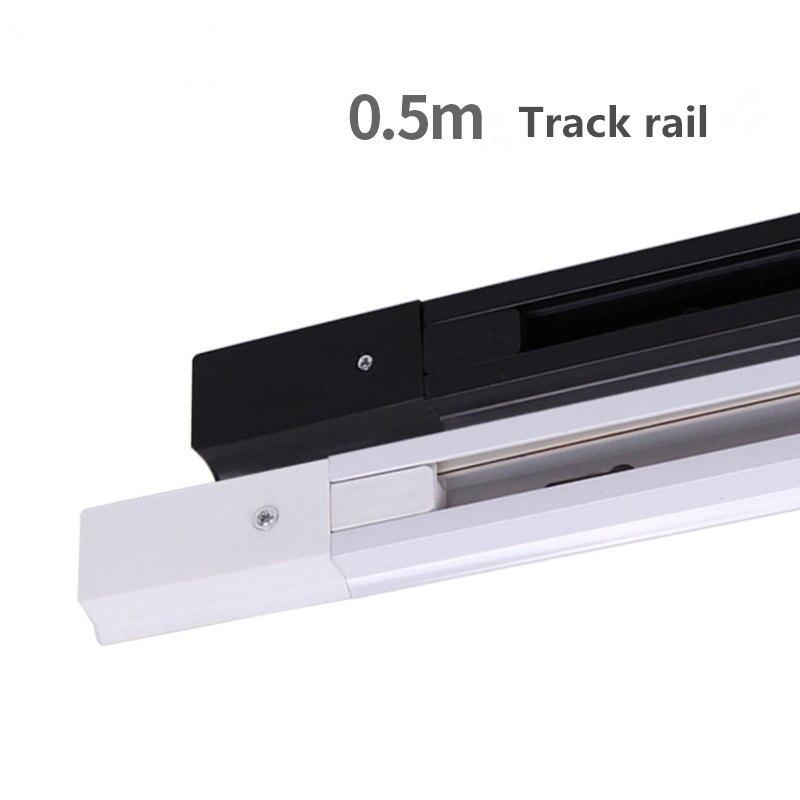 AC220V COB 10W 20W 30W Led Track light aluminum Ceiling Rail Track lighting Spot Rail Spotlights Replace Halogen Lamps in Track Lighting from Lights Lighting