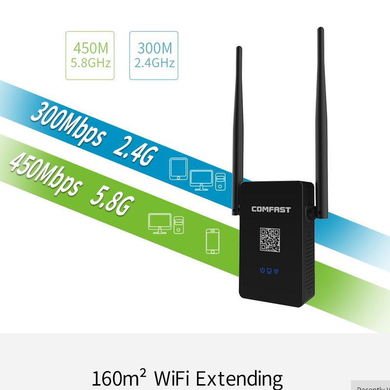COMFAST CF WR750ACV2 0 Wireless n 5ghz wifi router ac 750Mbps repeater 2 4G 5 8G