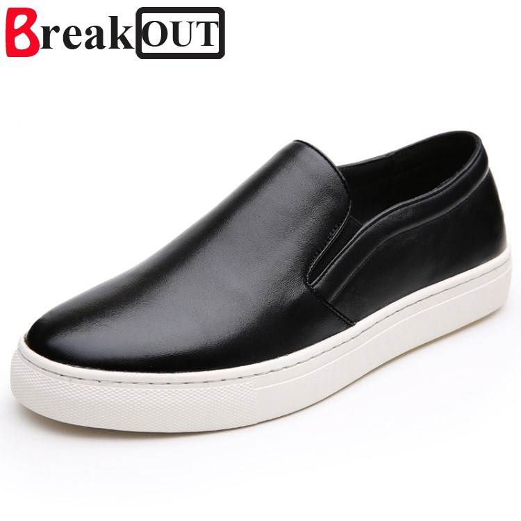 Break Out Men Casual Shoes New Fashion Comfortable Flat Men Oxford Shoes Lace-up Solid Winter Men Causal Shoes Footwear