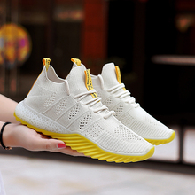 Fast Delivery Women Casual Shoes Summer Fashion Breathable Walking Mesh Lace Up Flat Shoes Sneakers Women 2019 Tenis Feminino 2017 korean version mesh women casual shoes summer heavy bottomed women shoes cheap walking women flats shoes tenis feminino