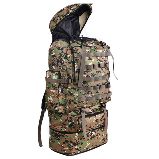 scione 100L Military Molle Bag Camping Tactical Backpack Men Large Backpacks Hiking Travel Outdoor Sport Bags Rucksack XA231WA 2