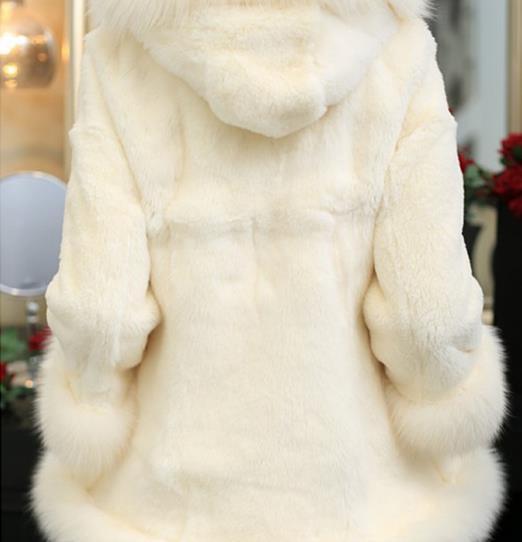 Nuovo Faux Finta Z155 Più Pelliccia Formato Cappotto Outwear Il Di Femme Giacca Donne Inverno 2019 Delle Artificiale Del rwgAZYrxq