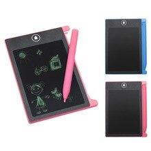 VODOOL 4,4 hüvelykes digitális LCD eWriter kézírás Papírmentes jegyzettömb rajz graffiti baba gyerekek oktatási rajz festészet