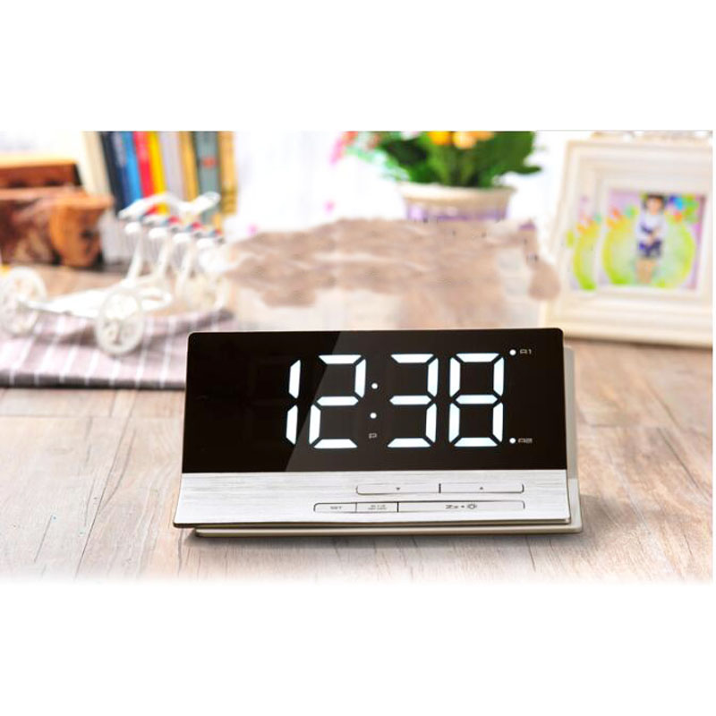 LED Digital Alarm Clock Snooze Dual Alarms Tabletop For Home Decoration Big  Numbers  In Alarm Clocks From Home U0026 Garden On Aliexpress.com | Alibaba  Group
