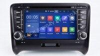 Android 8,1 HD 1024*600 dvd плеер автомобиля радио для Audi TT MK2 8J 2006 2007 2008 2009 2010 2011 2012 TT gps Navi камера видеорегистратор BT RDS