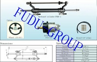 Outboard Hydraulic Steering System For Engines Till 100 HP