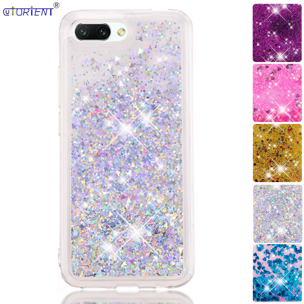 Phone Funda For Huawei Honor 10 Honor10 Dynamic Liquid Quicksand Bumper Case Col-l29a Col-l29 Col-l29d Soft Silicone Back Cover Ture 100% Guarantee Cellphones & Telecommunications