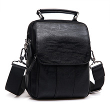 New fashion Men Genuine Leather Bag Natural Cowskin Messenger Bags Mens Cowhide Shoulder Crossbody