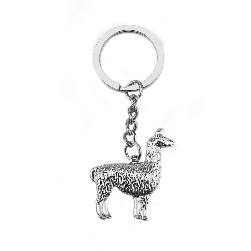 New Arrival Hot Sell Alloy Llama Keychain South Anerican Charm Gold And  Silver Llama Alpaca Jewelry Lovely Keychain For Gifts-in Key Chains from  Jewelry ... 2f2e1e6f3