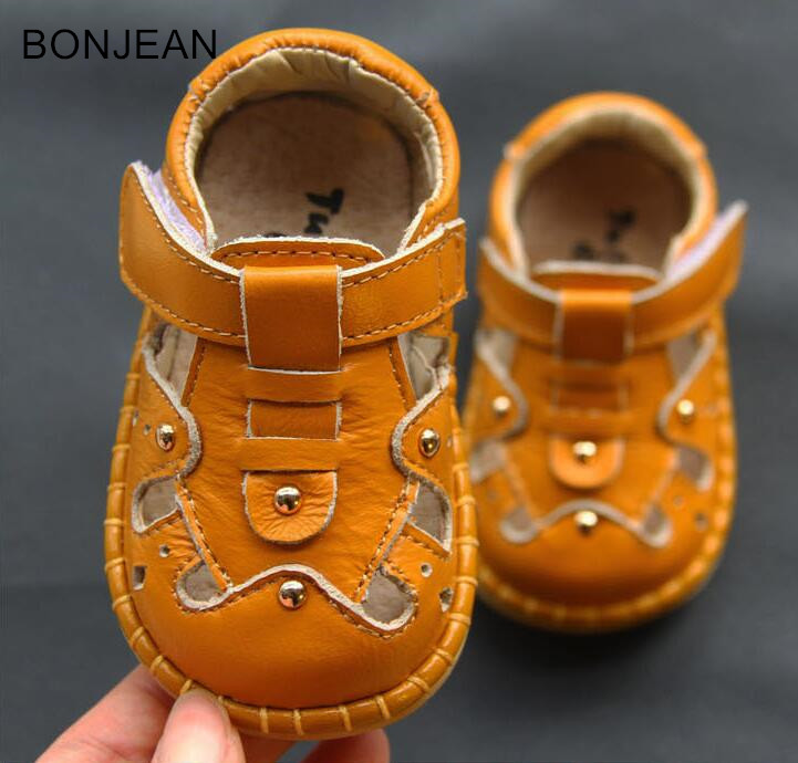 2018 free shipping baby toddler shoes leather 0-1-2 year old baby soft bottom childrens shoes pybk20 ...
