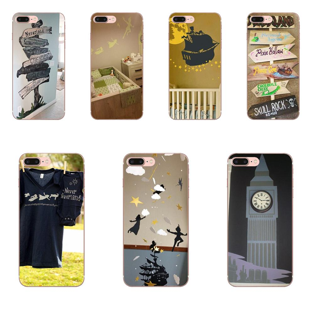 Cell Case Peter Pan Take Me To Neverland Cute For LG G4 G5 G6 K4 K7 K8 K10 2017 V10 V20 V30 Stylus Nexus 5 5X G2 G3 Mini Spirit