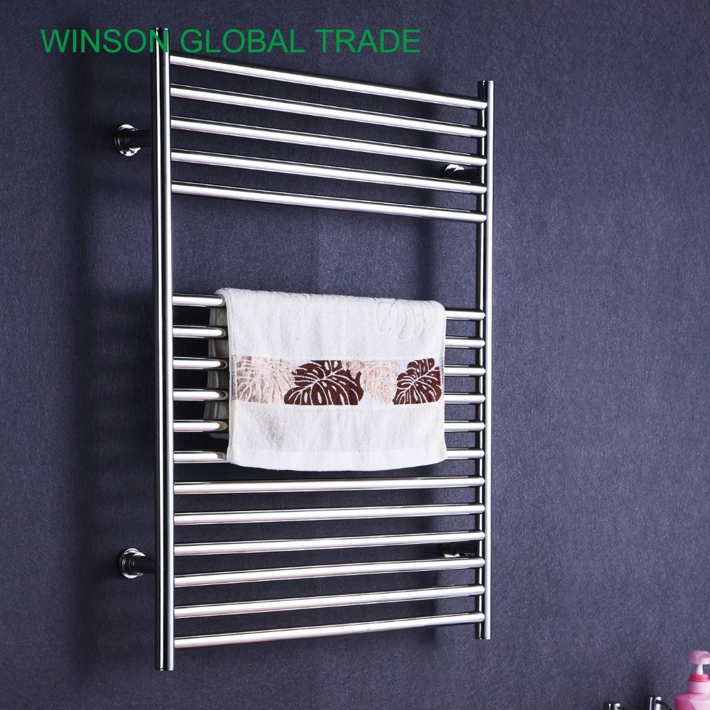 Electric Bathroom Towel Heaters: ICD50018 304 Stainless Steel Heated Towel Rail, Banheiro