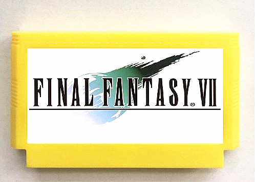 FINAL FANTASY VII Game Cartridge For 60PINS 8 Bit Game Cartridge