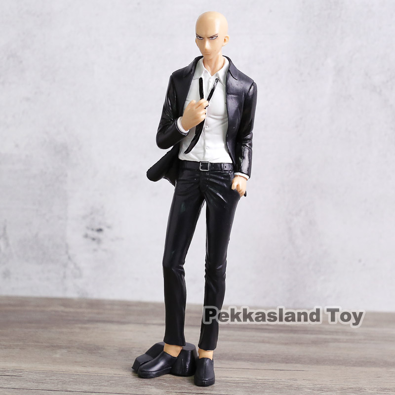 Saitama Figma Front view in business Suit