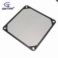 1 шт. Gdstime 140 мм алюминиевый пылезащитный Пылезащитный фильтр сетчатый предохранитель для ПК чехол вентилятор процессора