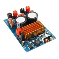LEORY TPA3255 Class D HiFi Digital Audio Amplifier Board 300W + 300W Active Components Module DC 50V Circuit