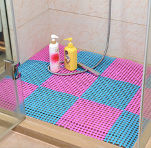 30*30CM,Candy Color Foot DIY Splice bath mat massage foot for stitching anti slip shower as floor decoration accessory