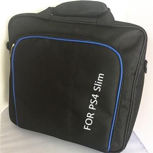 Image 4 - Funda protectora funda de sistema de juego bolso de hombro bolso de transporte Estuche De Viaje negro para Sony Playstation 4 PS4 Slim